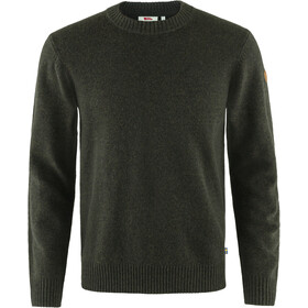 Fjällräven Övik Round-neck Sweater Men, dark olive